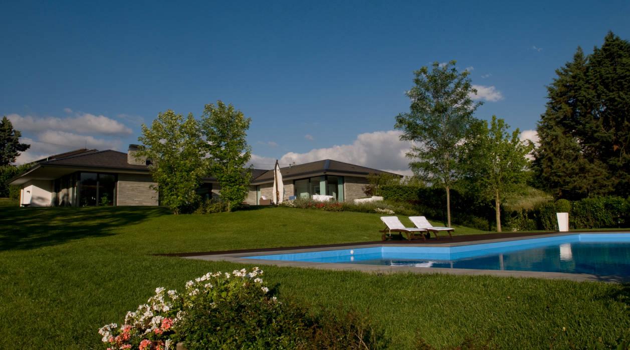 Villa Privata con piscina Arch. Donato Panarese Case moderne