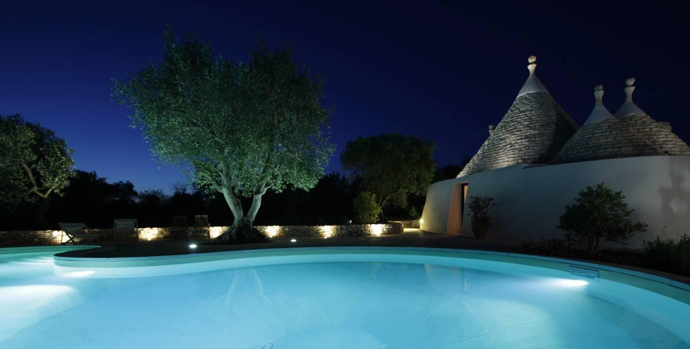 ARKITETTI Flore-Venezia Pools im Landhausstil
