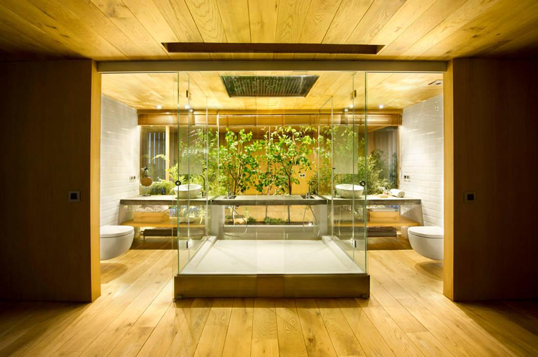 Baños de estilo  por Egue y Seta, Rústico