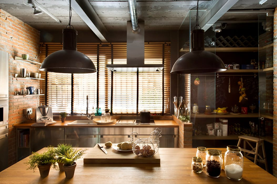 Kitchen by Egue y Seta, Rustic