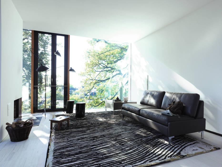 غرفة المعيشة تنفيذ COR Sitzmöbel Helmut Lübke GmbH & Co. KG,