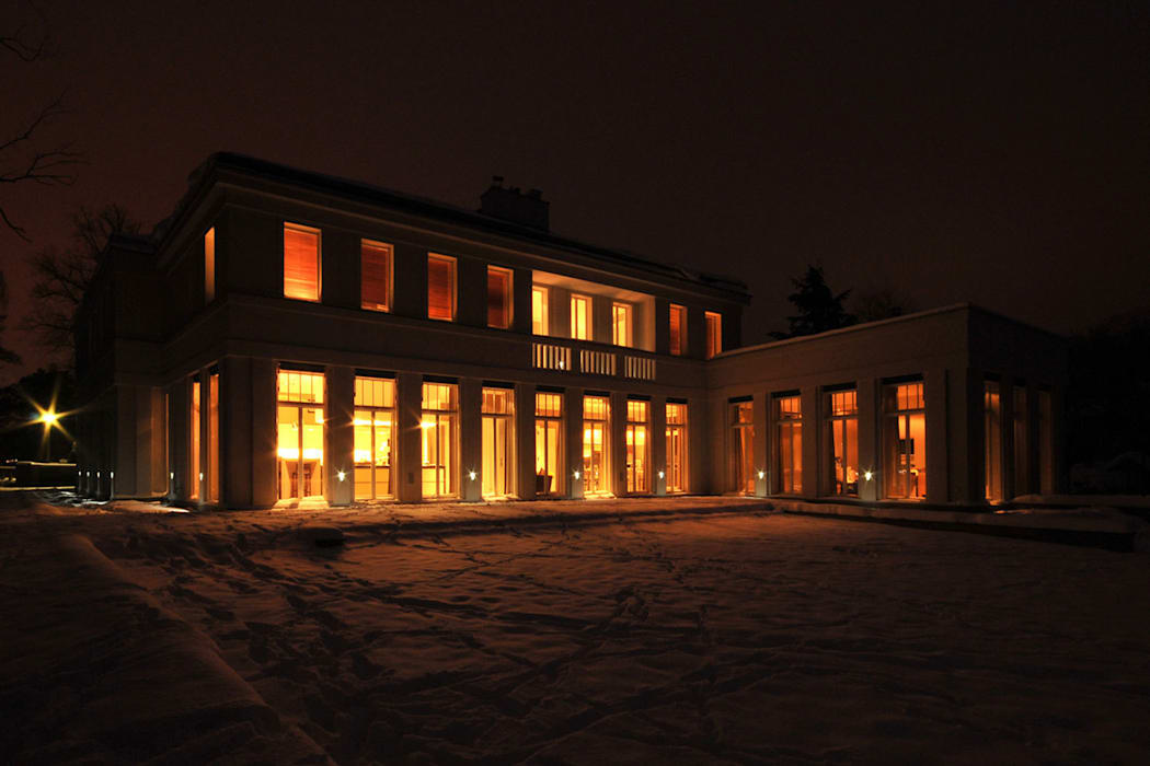 Liegeplatz am See - Landsitz mit Ferienambiente Klassische Häuser von CG VOGEL ARCHITEKTEN Klassisch