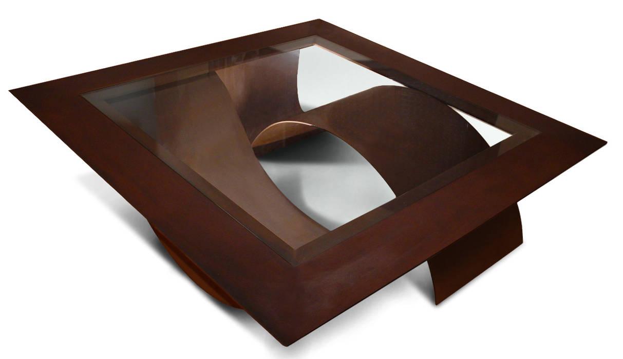555e9dc938224 TSUNAMI - Mesa de centro moderna de vidrio  Salones de estilo de GONZALO DE  SALAS