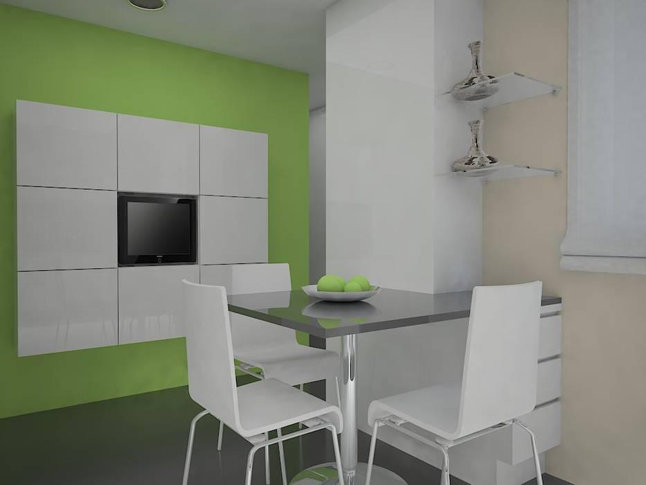 Reforma de cocina. Cocinas de estilo moderno de MUMARQ ARQUITECTURA E INTERIORISMO Moderno