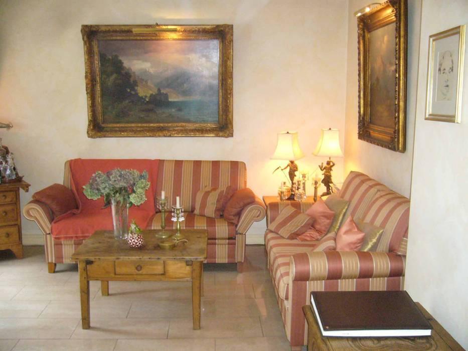 Vorherfoto des Gartenzimmers:  Wohnzimmer von Innenarchitektin Claudia Haubrock