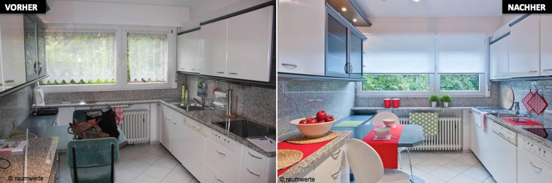 Home Staging Erbimmobilie Siebziger Jahre Küche von raumwerte Home Staging