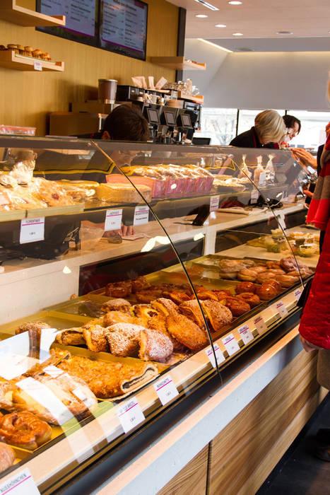 Cafe Schmidt:  Ladenflächen von trend group