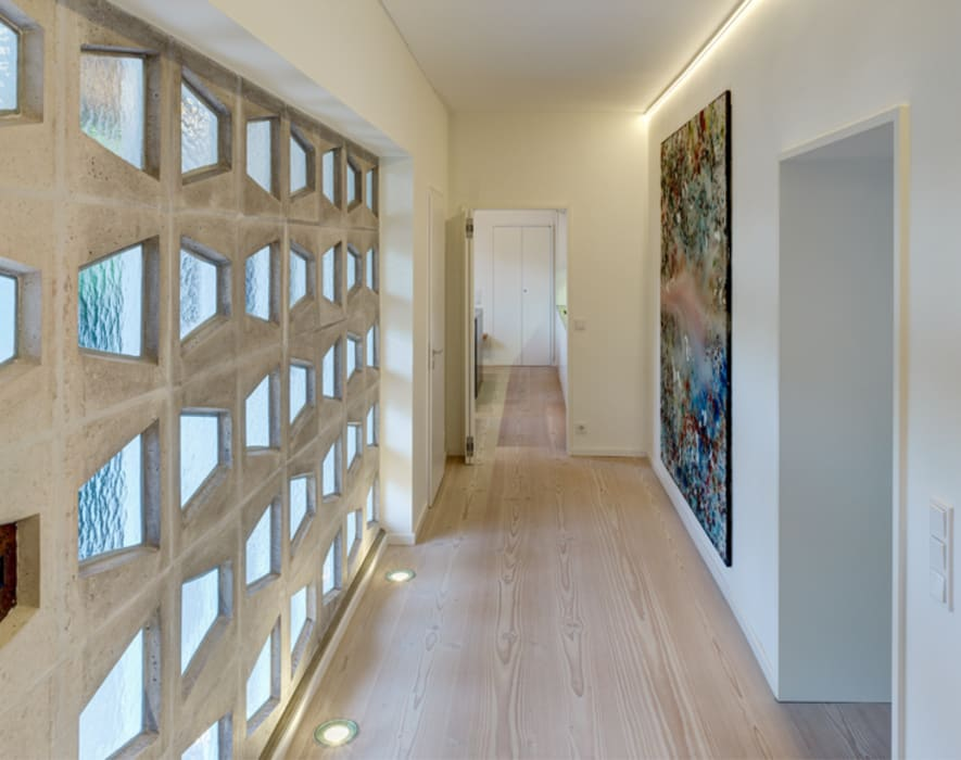 Flur Flur, Diele & Treppenhaus von Architektur Sommerkamp