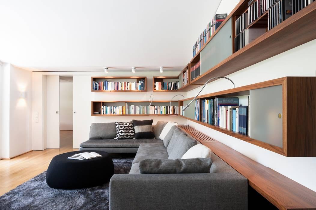 exclusives Wohndesign:  Wohnzimmer von innenarchitektur-rathke