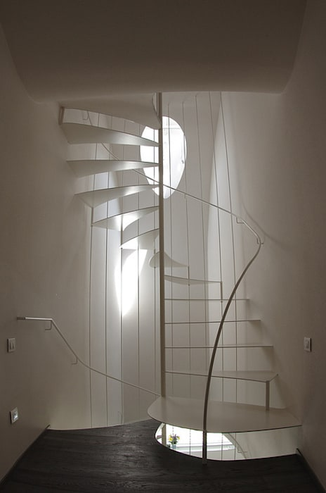 lauro ghedini & partners _ architecture.design studio Modern Corridor, Hallway and Staircase
