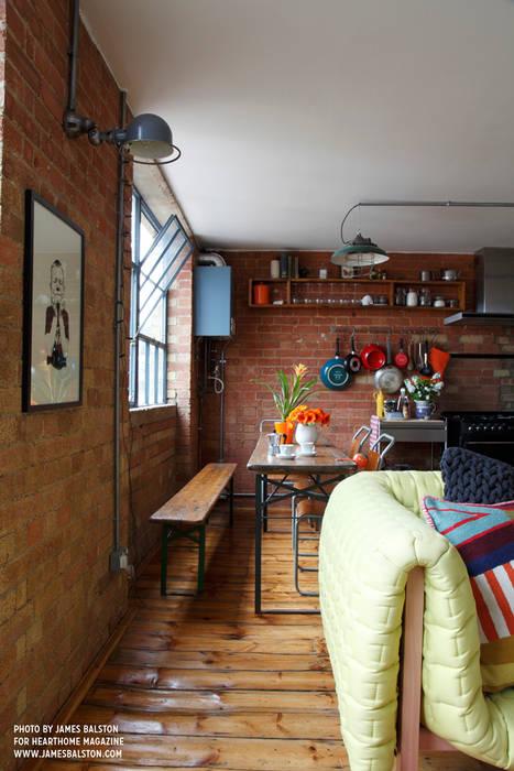 Dining Comedores de estilo industrial de Cassidy Hughes Interior Design Industrial