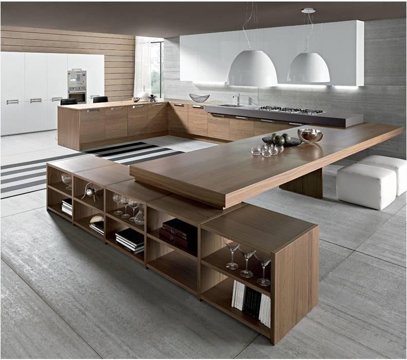 Foto cocina madera Comedores de estilo moderno de NEUTTRO interiorismo Moderno