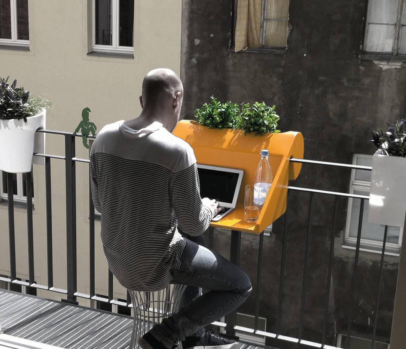 balKonzept Balkontisch + Balkonkasten studio michael hilgers GartenMöbel