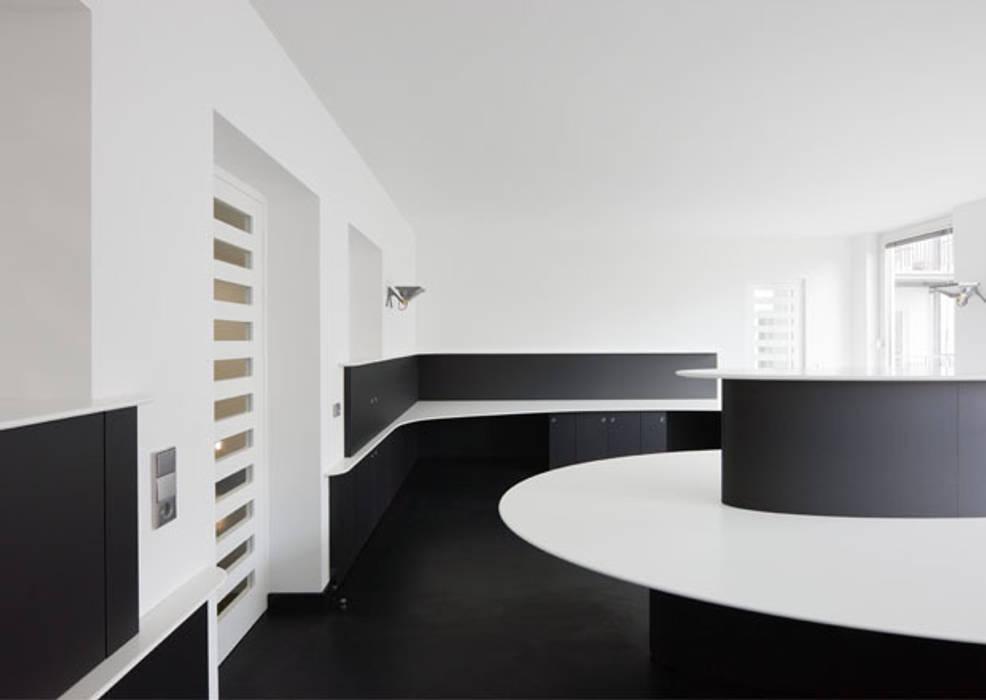 Office Digital Outdoor IONDESIGN GmbH Moderne Geschäftsräume & Stores
