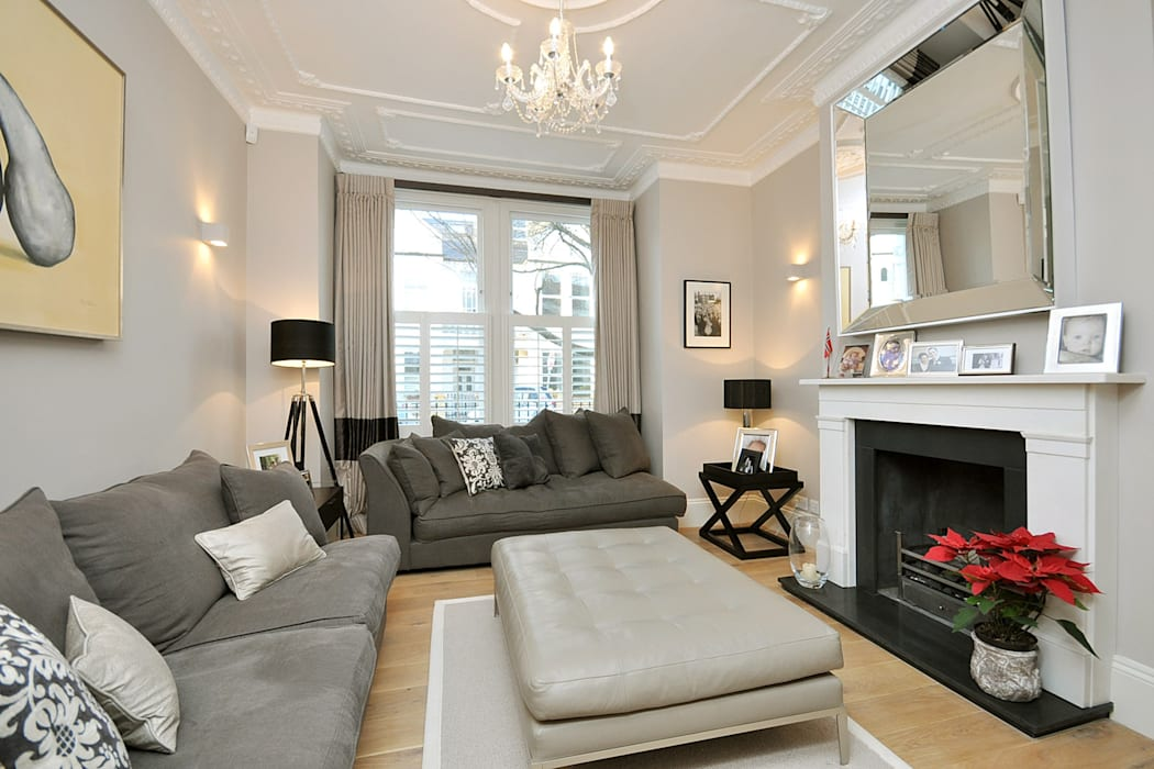 Fulham 1 Modern Living Room by MDSX Contractors Ltd Modern