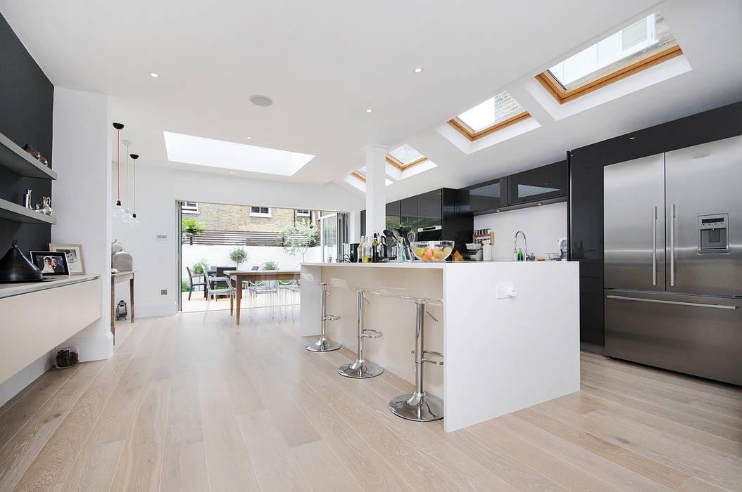 Fulham 2 Dapur Modern Oleh MDSX Contractors Ltd Modern