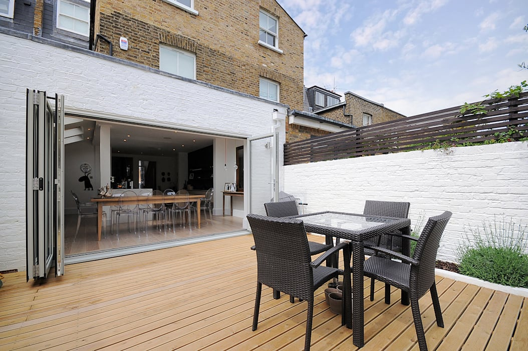 Fulham 2:  Garden by MDSX Contractors Ltd