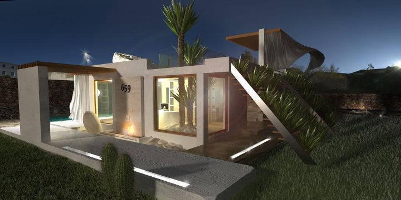 現代房屋設計點子、靈感 & 圖片 根據 maurococco.it 現代風