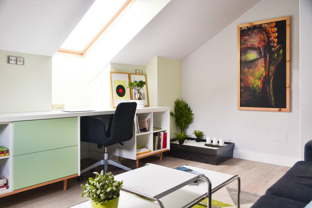 Verde y relax... de TEKNIA ESTUDIO Escandinavo