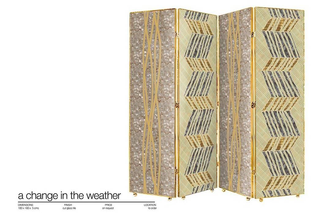 The Edge of Reason Collection de Martin Brown Mosaics Moderno