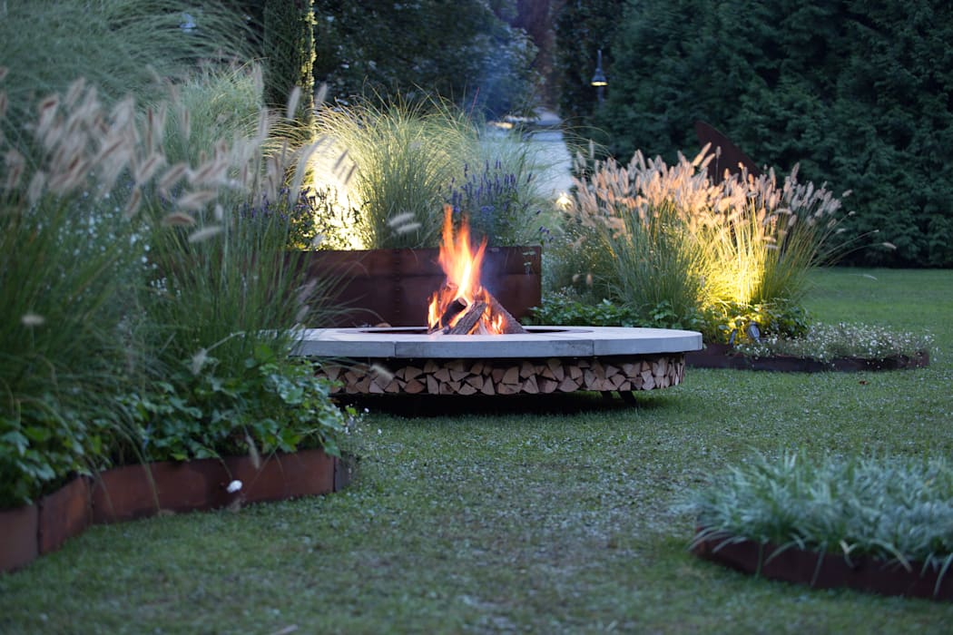 庭院 根據 Barbara Negretti - Garden design -