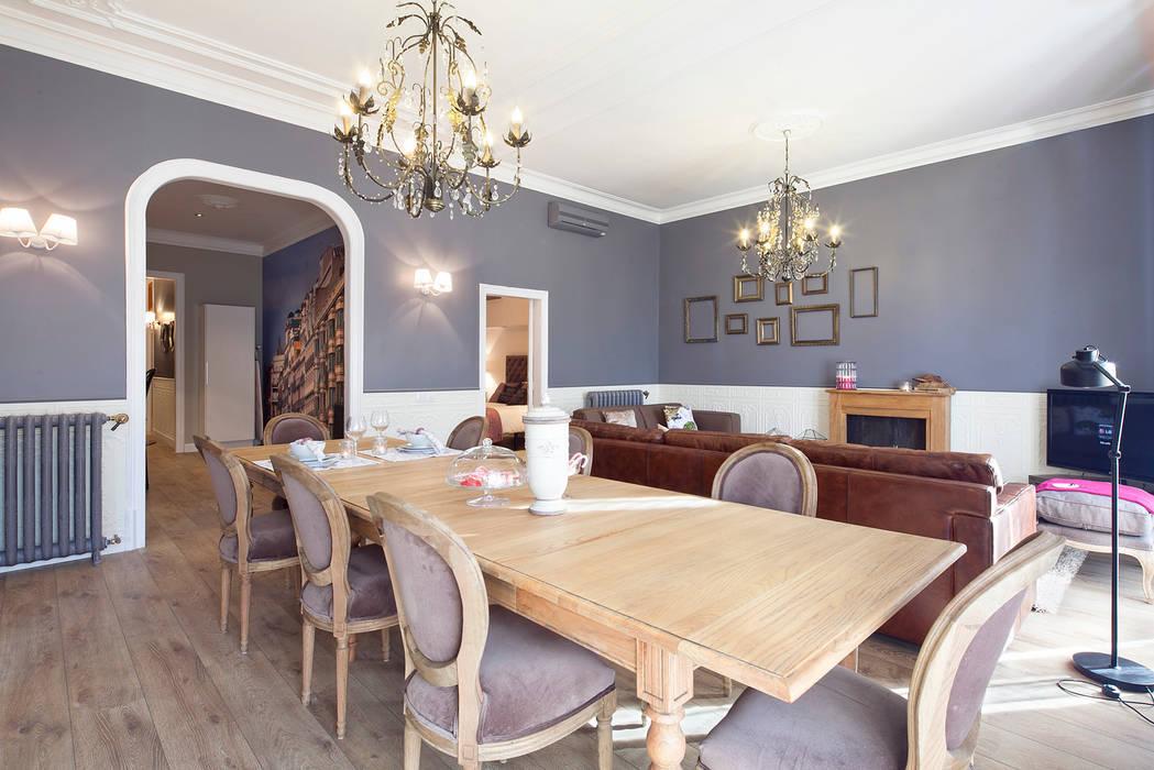 PISO EN RAMBLA DE CATALUNYA by JUDITH FARRAN Comedores de estilo clásico de Home Deco Decoración Clásico