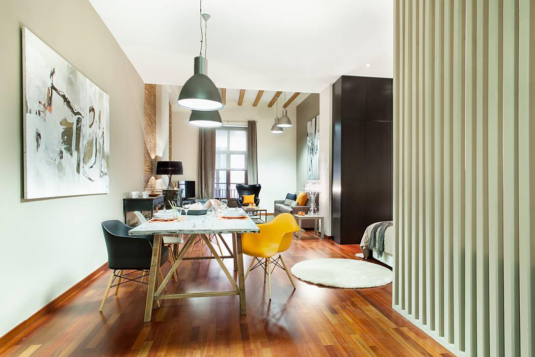 LOFT CENTRO DE BARCELONA Home Deco Decoración Salones de estilo industrial