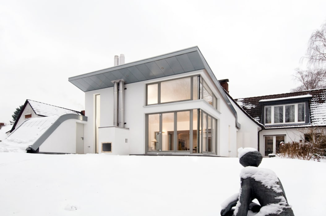 Gartenblick Moderne Häuser von and8 Architekten Aisslinger + Bracht Modern