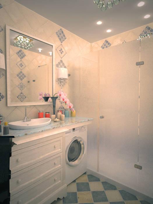 Кухня-гостиная в классическом стиле Ванная в классическом стиле от Гурьянова Наталья Классический
