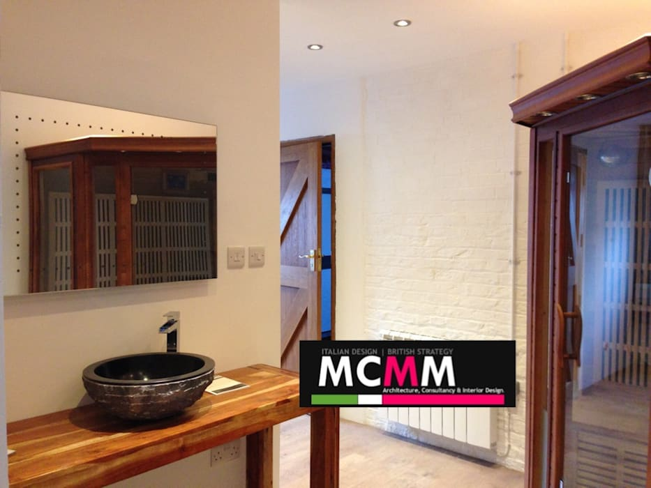 PRIVATE SPA & FITNESS STUDIO|Norfolk, UK Country style gym by MCMM Architettura Country