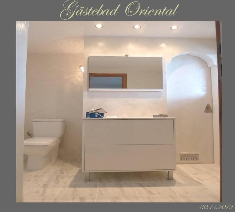 Orientalische Malerei:  Badezimmer von Illusionen mit Farbe