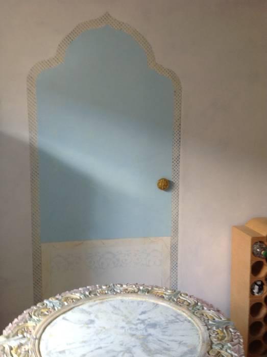 Orientalische Malerei: koloniale Küche von Illusionen mit Farbe
