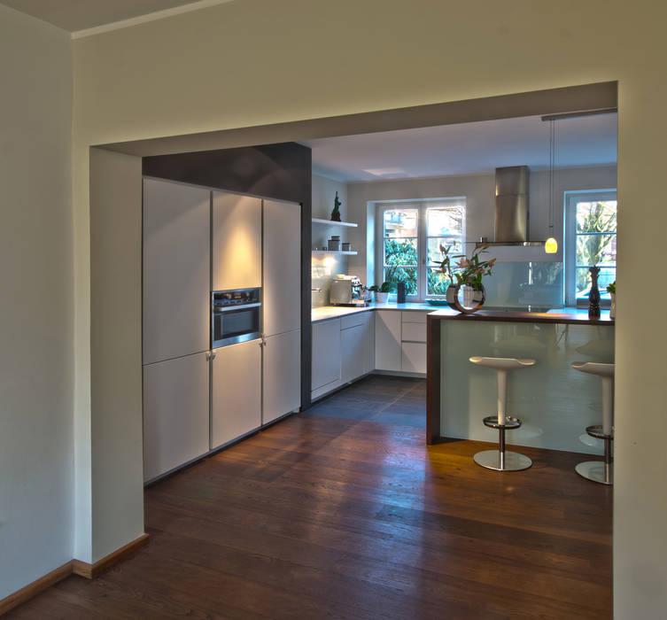 Privathaus L Küche Küche Von Lichters Living Modern Homify