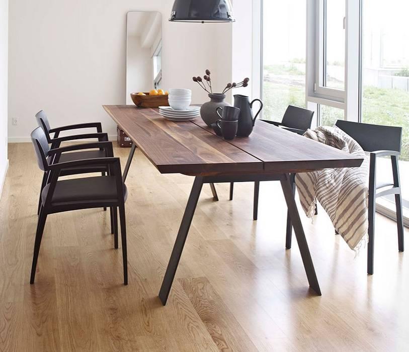 Plank Table: modern  by Wharfside Furniture, Modern