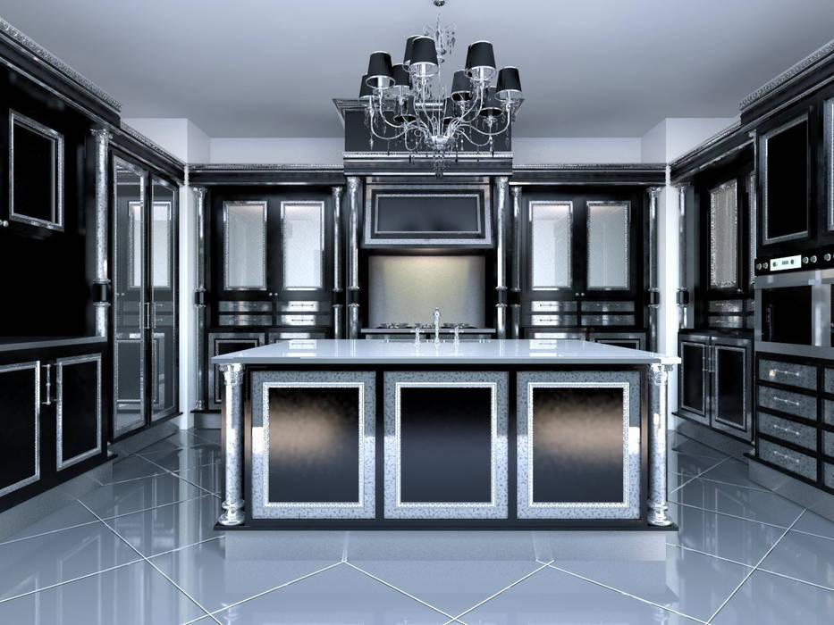 linea black Cucina in stile classico di elisalage Classico