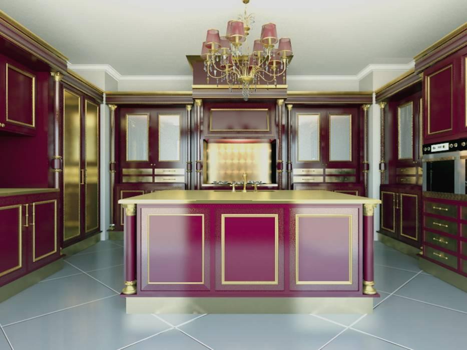linea red Cucina in stile classico di elisalage Classico