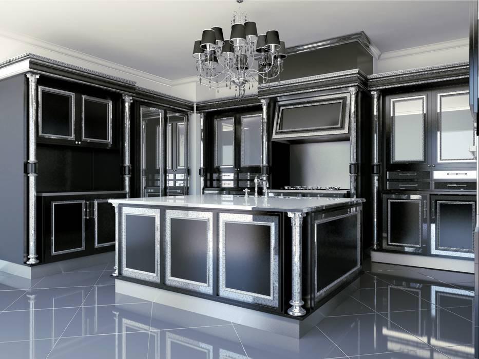 linea black: Cucina in stile  di elisalage