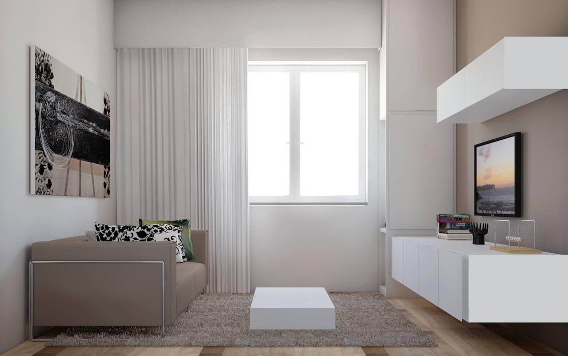 Solva_living Soggiorno moderno di elisalage Moderno