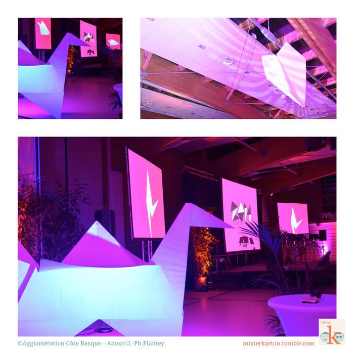 Origami: Lieux d'événements de style  par mister K