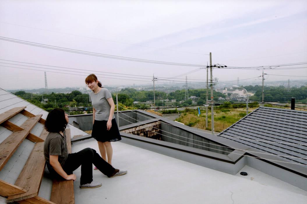 ROOF/M: eu建築設計が手掛けたベランダです。