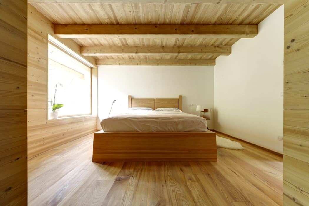 STUDIOFANETTI Eclectic style bedroom