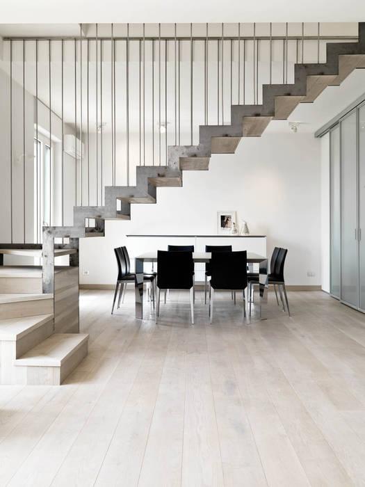 Recupero Sottotetto Duplex 2 Enzoferrara Architetti Ingresso Corridoio Scale In Stile Moderno Homify