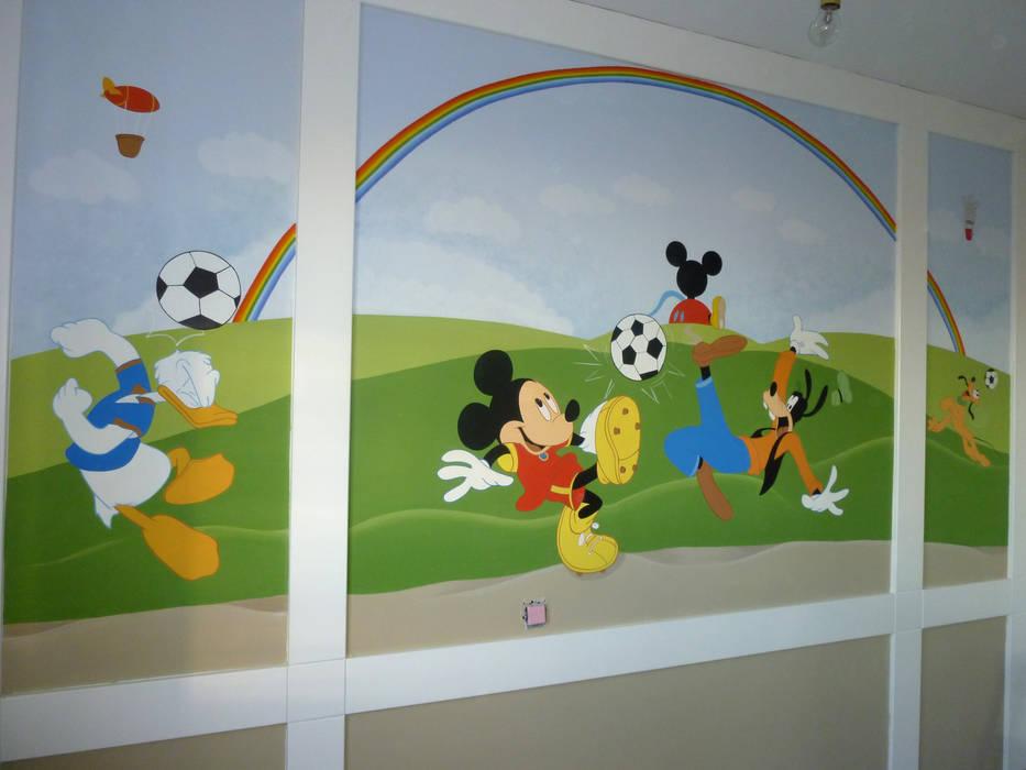Murales Infantiles Con Los Personajes Preferidos De Los Ninos De