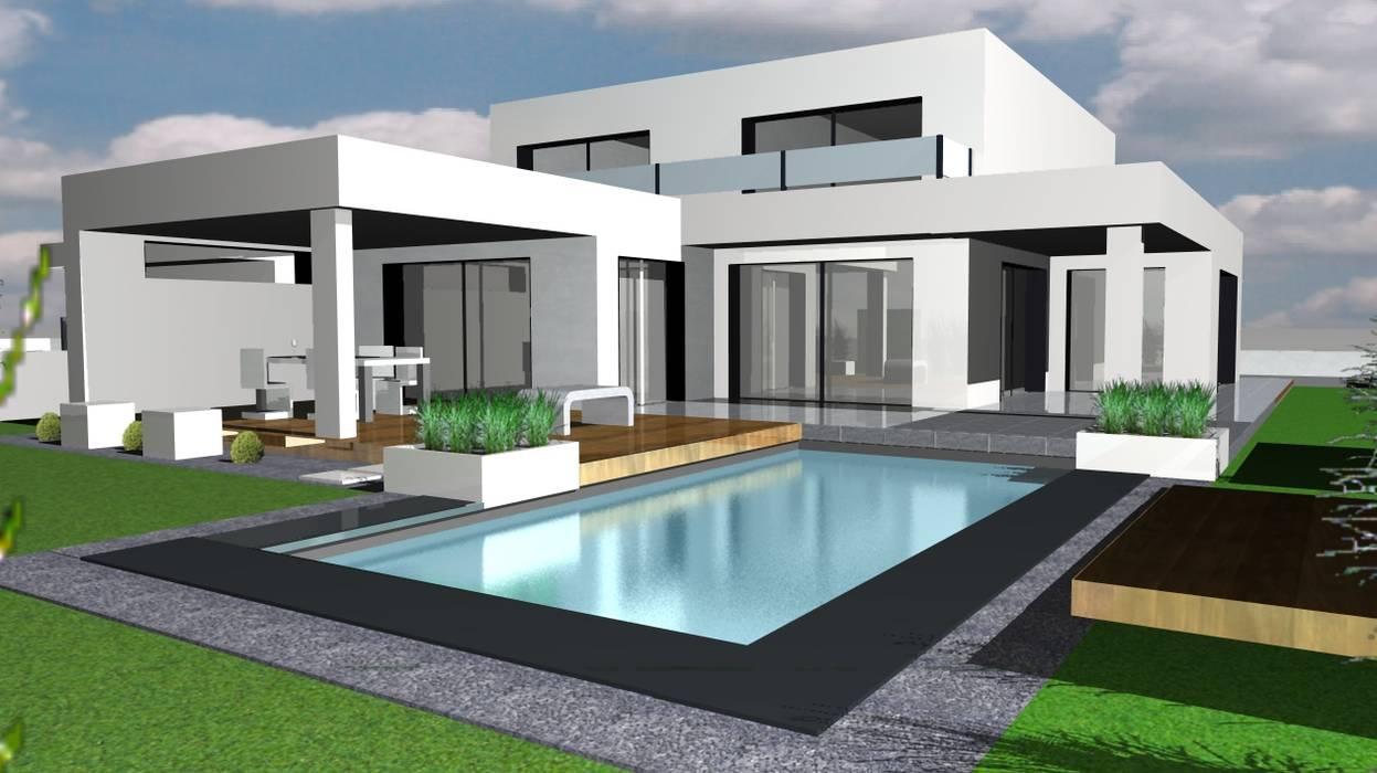 Etude - concept - Paxsage 3D Maisons modernes par Art Bor Concept Moderne