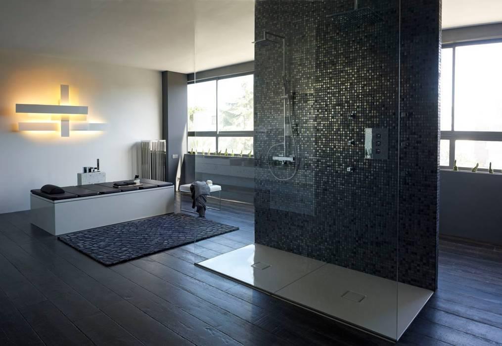 Block & Bath: Baños de estilo  de BARASONA Diseño y Comunicacion