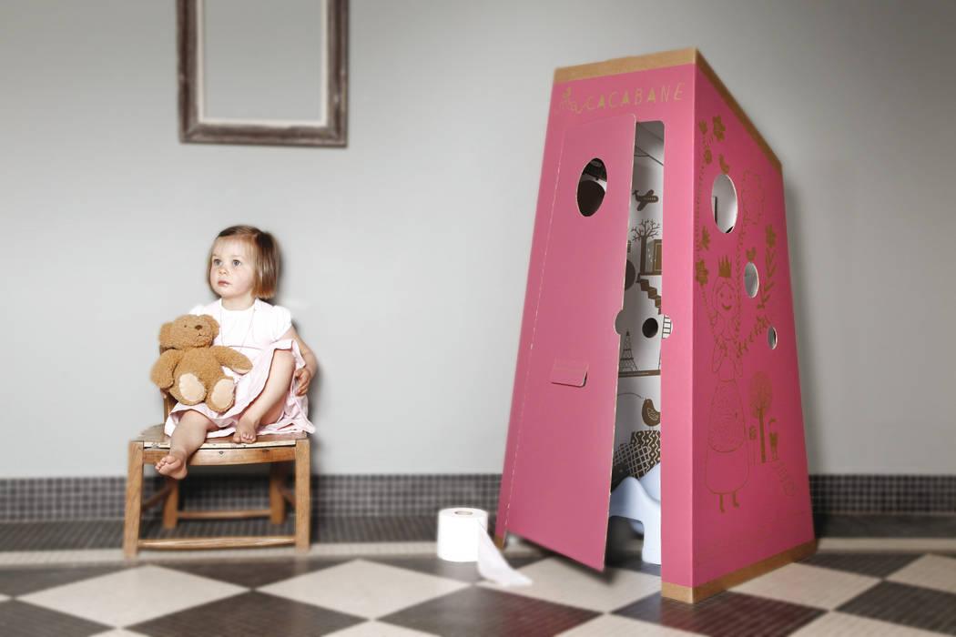 La petite Histoire…: Chambre d'enfant de style de style eclectique par PIROUETTE CACAHOUÈTE