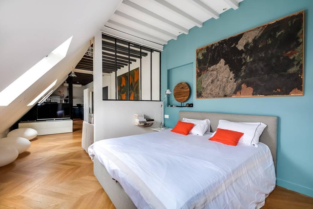Appartement paris Chambre moderne par Meero Moderne