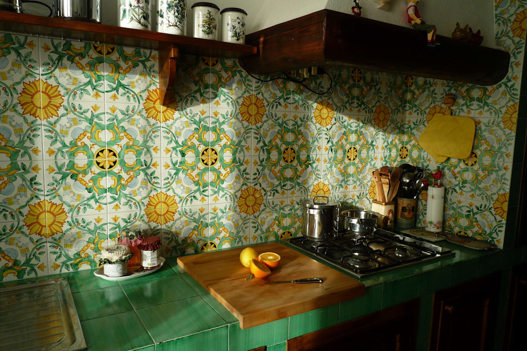 Ceramiche di vietri: cucina in stile di studio 3.14 | homify