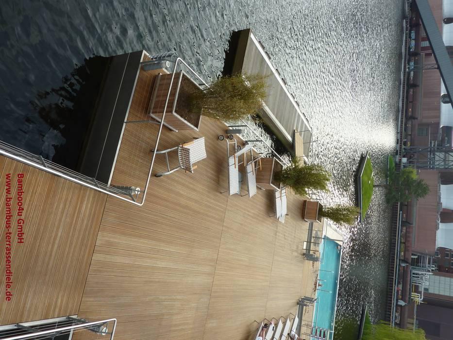 Hotelanlage in Deutschland Mediterraner Balkon, Veranda & Terrasse von Bamboo4u Mediterran