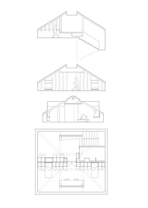 CASA R: Stanza dei bambini in stile  di CN10 ARCHITETTI